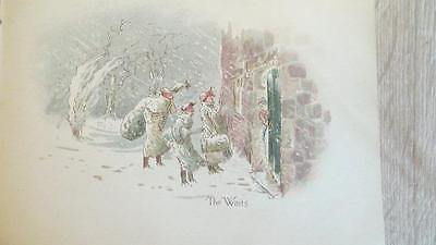 """c1890 """"AN OLD-FASHIONED CHISTMAS AT GAMBREL GRANGE"""" PUBLISHED BY NISTER - SCARCE"""