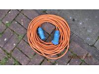 Caravan electric cable