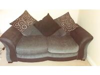 Sofa bed with sprung mattress