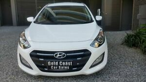 2015 Hyundai i30 GD3 Series 2 Active 1.6 CRDi White 7 Speed Auto Dual Clutch Hatchback Southport Gold Coast City Preview