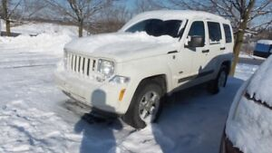 2010 Jeep Liberty 4x4 V6 Sport   AS TRADED