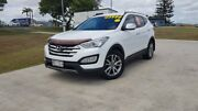 2013 Hyundai Santa Fe DM MY13 Elite White 6 Speed Sports Automatic Wagon Gympie Gympie Area Preview