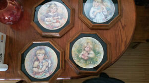"""(Wedgwood) Collector Plates Full Set - """"Blossoming of Suzanne"""""""