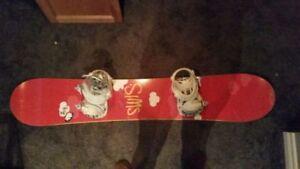 BRAN NEW SNOWBOARD PACKAGE FOR WOMEN