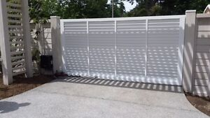 Custom Aluminum Driveway Gates & Automated Gate Opening Systems! Comox / Courtenay / Cumberland Comox Valley Area image 6