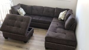 Sectionals with Storage Ottoman