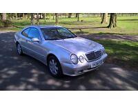 MERCEDES-BENZ CLK 200K Avantgarde Tip Auto (silver) 2000