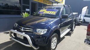 2009 Mitsubishi Triton MN MY10 GL-R 5 Speed Manual Medindie Walkerville Area Preview