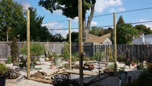 Level Post Digging and Setting - Fences and Decks London Ontario image 3