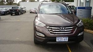 2013 Hyundai Santa Fe DM Highlander CRDi (4x4) Arabica Brown 6 Speed Automatic Wagon Northam Northam Area Preview