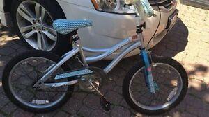 "GIRLS bike - 16"" - Avigo - Age 5 - 8"