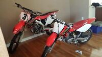 Honda CFR450R 2006 &2004 XR80R For Sale