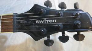 Electric Guitar- Switch Brand 1 piece Acrylic body/neck