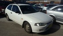 1998 Mitsubishi Mirage CE White 5 Speed Manual Hatchback Georgetown Newcastle Area Preview