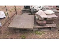 Stone slab heavy, strong 695 x 860 x 55 thick