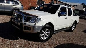 2011 Nissan Navara D40 ST-X 550 (4x4) White 7 Speed Automatic Dual Cab Utility Sylvania Sutherland Area Preview