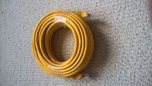 50 feet / 15.24 meters Ethernet cable cat 6