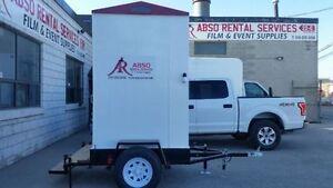 Portable Washroom on a 10' Trailer for Rent! Kawartha Lakes Peterborough Area image 1
