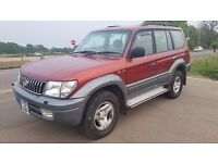 TOYOTA LAND CRUISER 3.0 D-4D VX AUTO ESTATE, 5dr **FULL LEATHER INTERIOR**PERFECT ENGINE & GEARBOX**