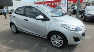 2010 Mazda 2 DE10Y1 MY10 Neo Highlight Silver 4 Speed Automatic Hatchback Townsville Townsville City Preview