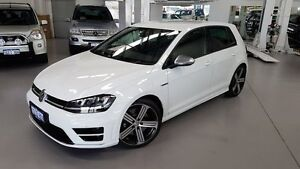 2016 Volkswagen Golf VII MY16 R DSG 4MOTION Black 6 Speed Sports Automatic Dual Clutch Hatchback Cannington Canning Area Preview