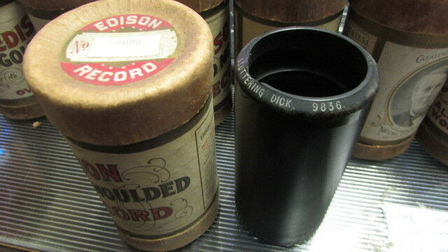 EDWARD MEEKER EDISON WAX CYLINDER RECORD 9836 STUTTERING DICK