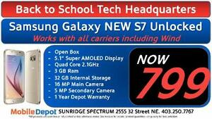BACK TO SCHOOL - NEW Samsung Galaxy S7 - 32GB Unlocked