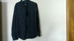 Mans Designer Patrick Assaraf Long Sleeve Shirt [new]