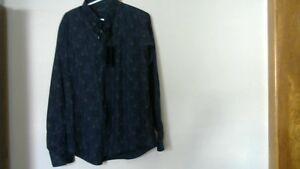 Mans Designer Patrick Assaraf Long Sleeve Shirt [new]