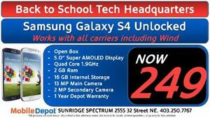 BACK TO SCHOOL - Samsung Galaxy S4 Unlocked