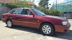 2000 Toyota Avalon MCX10R VXi Red 4 Speed Automatic Sedan Wentworthville Parramatta Area Preview