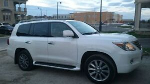 Mint Condition White Lexus LX570