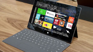 Microsoft surface rt windows with office and keyboard