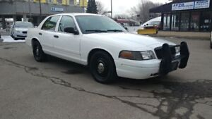 2011 FORD CROWN VICTORIA 4.6L V8,AUTOMATIC POLICE PACK