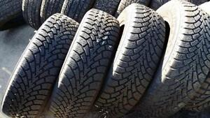 Four Goodyear nordic winter 16 inch tires