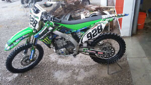 2014 kx 450 f first 5200 $ takes it home