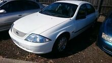 2000 Ford Falcon Auii Forte White 4 Speed Automatic Sedan Maidstone Maribyrnong Area Preview