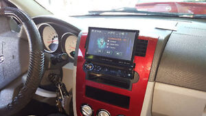 Radio d'auto GPS Pioneer Sony JVC Clarion Kenwood GPS AUX USB BT
