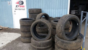 225 45 17 Continental all season tires 90% tread $375