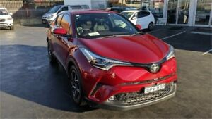 2017 Toyota C-HR NGX50R Koba Red Constant Variable Wagon Lansvale Liverpool Area Preview