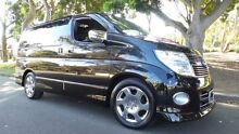2008 Nissan Elgrand Leather Edition Highway Star Black Pearl...