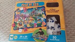 The Learning Journey Jumbo Floor Puzzles (4 Puzzles)