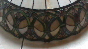 Large Tiffany style Ceiling lamp Kitchener / Waterloo Kitchener Area image 4