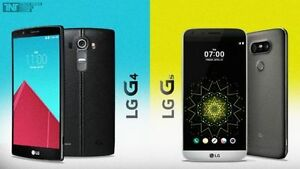New Sealed Unlocked LG G4, LG G5, Wind+Worldwide, Warranty