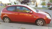 2008 Hyundai Accent Coupe (2 door) - Low Miles