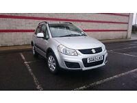Stunning Silver mint Suzuki SX4 SZ3, Low Mileage, FSH, One Owner, HPI clear, Exceptional Condition.
