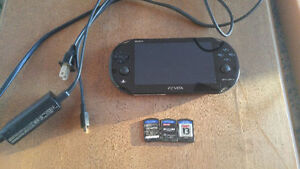 PS Vita Slim with 3 games - $125 Firm