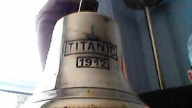 titanic ship bell