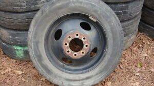 GMC P30 19.5  8 LUG RIMS WANTED