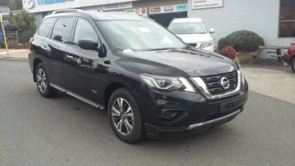 2016 Nissan Pathfinder R52 Series II MY17 ST X-tronic 2WD Black 1 Speed Constant Variable Wagon Bridgewater Adelaide Hills Preview